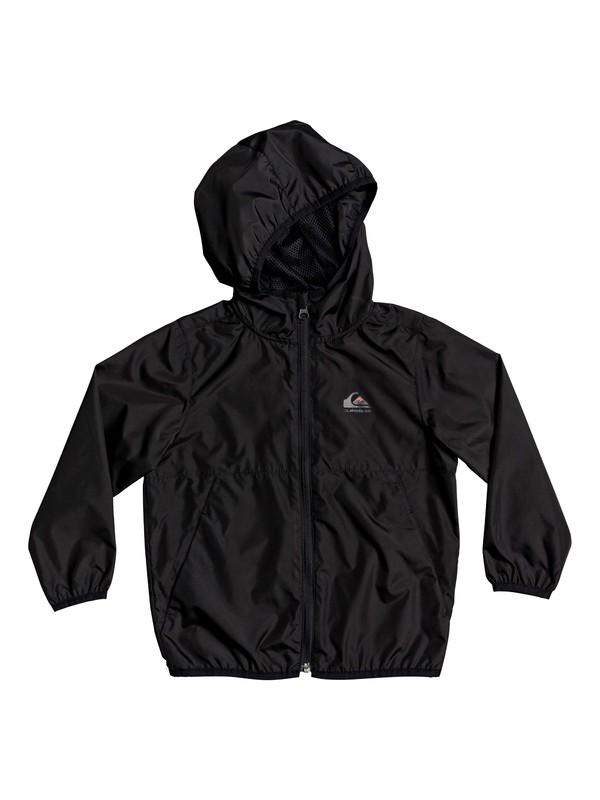 0 Boy's 2-7 Everyday Hooded Windbreaker Black EQKJK03098 Quiksilver