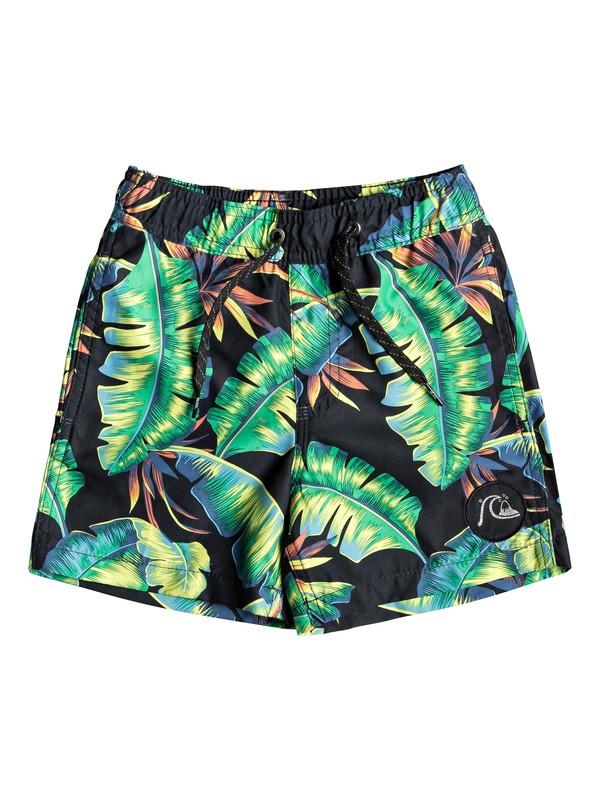 """0 Poolsider 12"""" - Swim Shorts for Boys 2-7 Green EQKJV03061 Quiksilver"""
