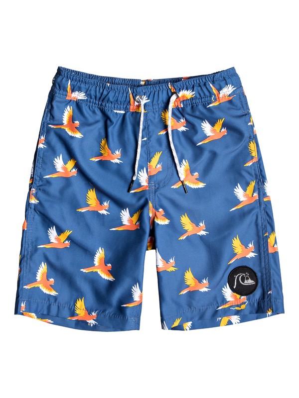 """0 Shorts para Nadar - Cockatoo de 14"""" Azul EQKJV03081 Quiksilver"""