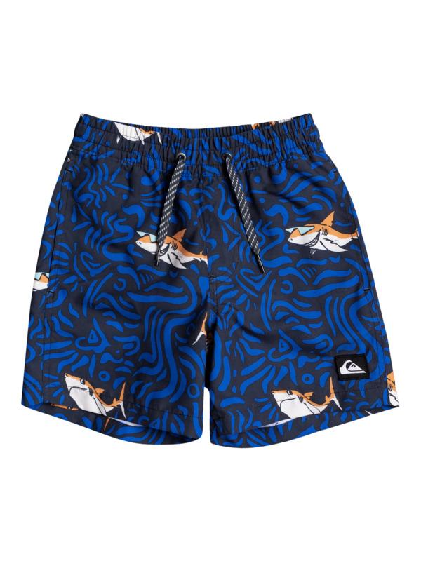 "Sharky 12"" - Swim Shorts for Boys 2-7  EQKJV03156"