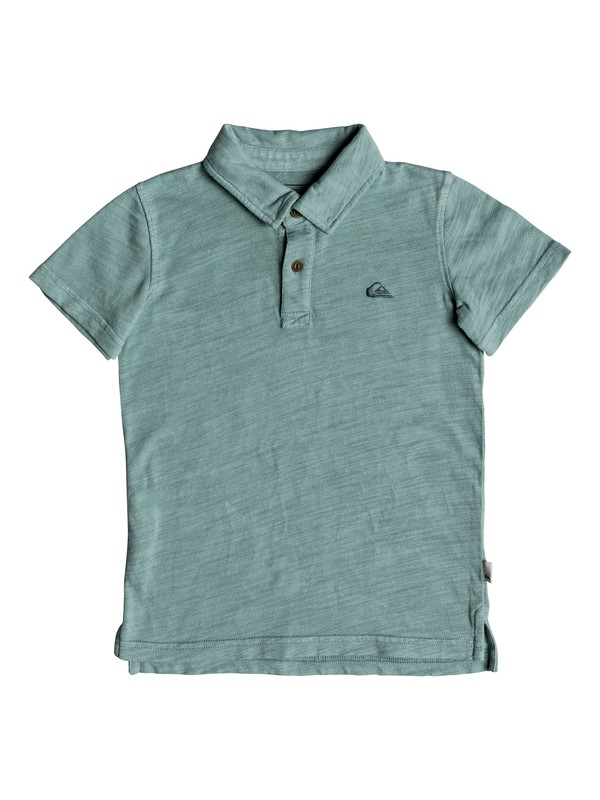 0 Boy's 2-7 Everyday Sun Cruise Short Sleeve Polo Shirt Blue EQKKT03129 Quiksilver