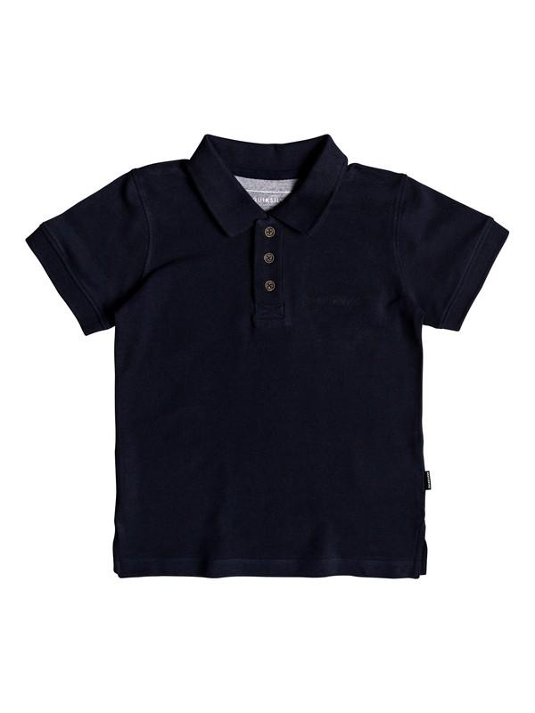 0 Boy's 2-7 Tori Pass Short Sleeve Polo Shirt Blue EQKKT03137 Quiksilver