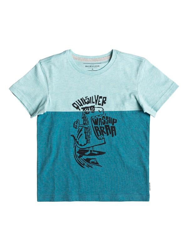 0 Energy Project - Camiseta para Chicos 2-7 Azul EQKKT03157 Quiksilver