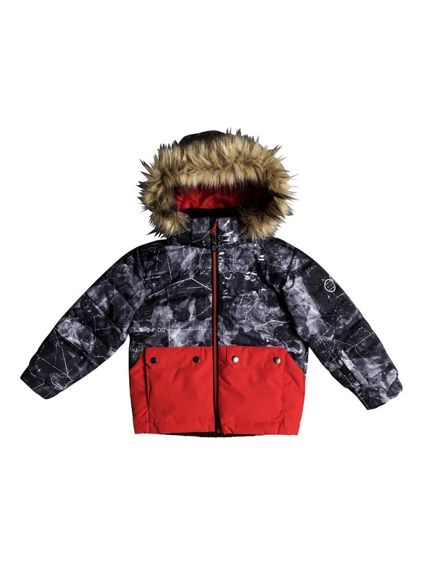 0 Edgy - Snow Jacket for Boys 2-7 Black EQKTJ03008 Quiksilver