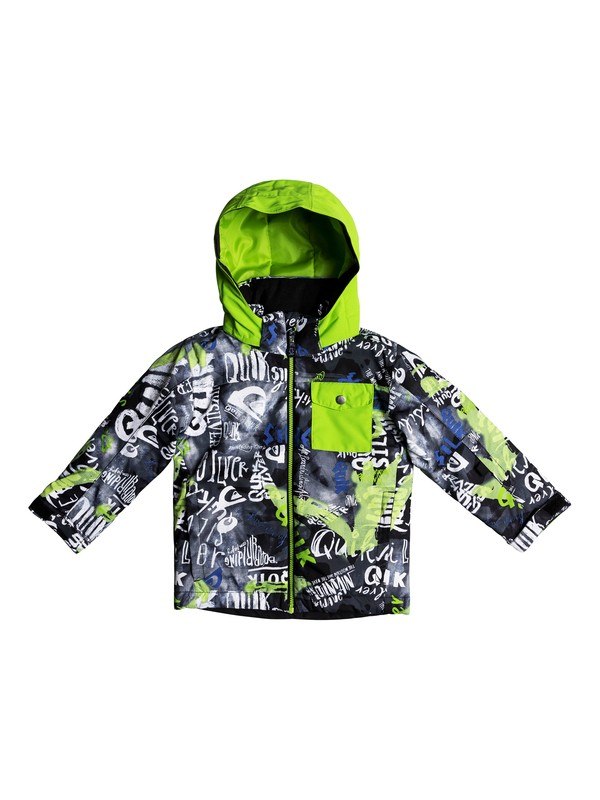 0 Boy's 2-7 Little Mission Snow Jacket Black EQKTJ03009 Quiksilver