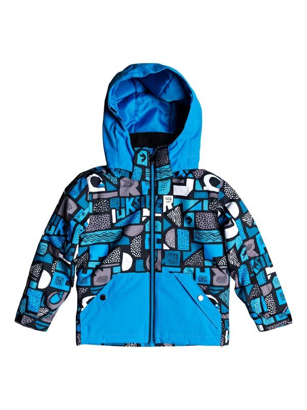 0 Boy's 2-7 Little Mission Snow Jacket Blue EQKTJ03010 Quiksilver