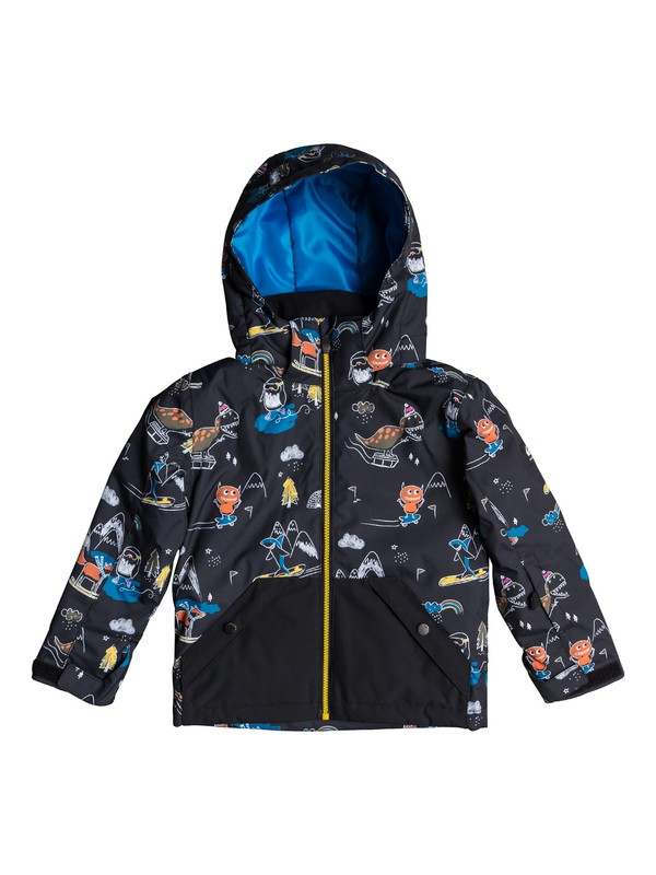 0 Little Mission Snow Jacket Black EQKTJ03010 Quiksilver