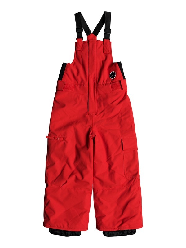 0 Boogie - Snow Pants for Boys 2-7 Red EQKTP03003 Quiksilver