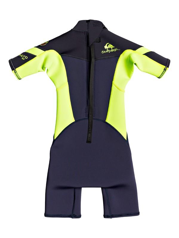 2/2mm Syncro - Back Zip Short Sleeve Springsuit for Boys 2-7  EQKW503001