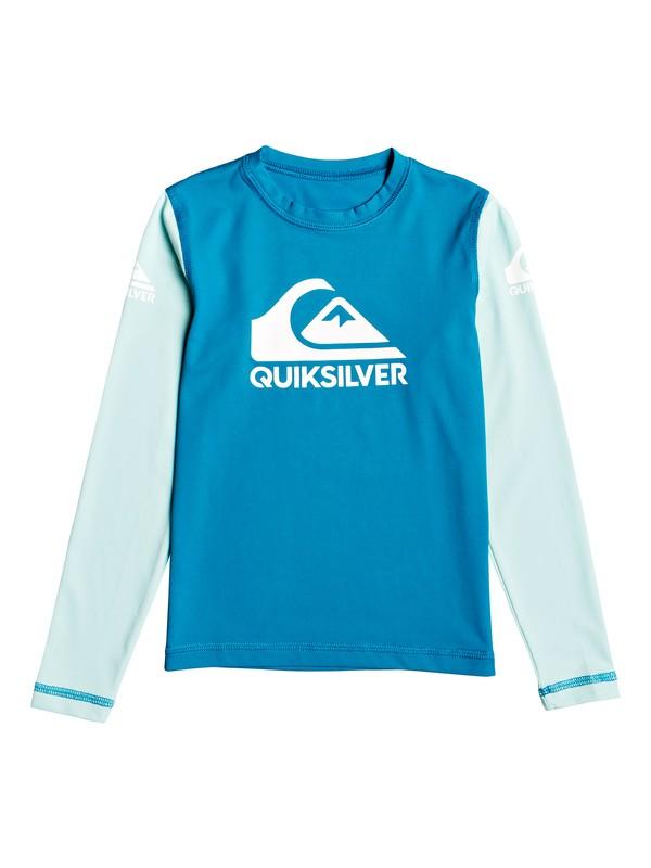 Heats On - Long Sleeve UPF 50 Surf T-Shirt for Boys 2-7  EQKWR03053