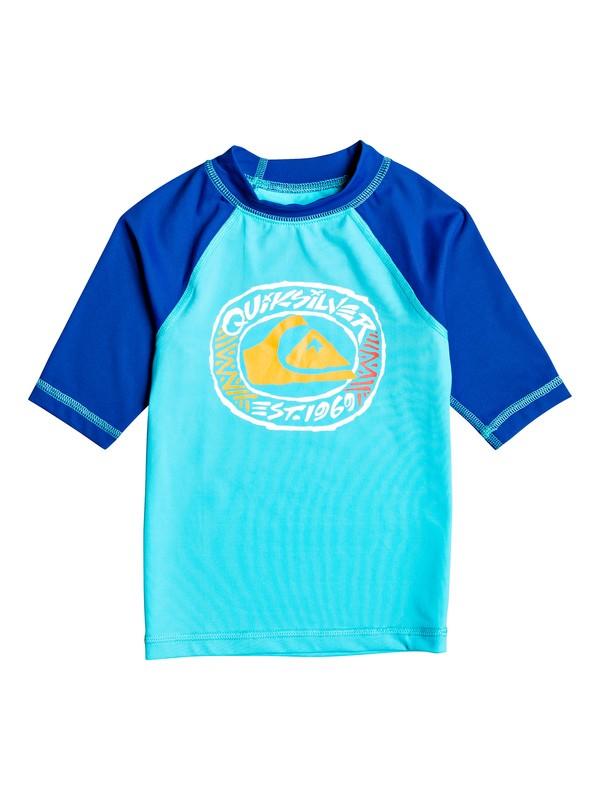 Bubble Dreams - Short Sleeve UPF 50 Rash Vest for Boys 2-7  EQKWR03074