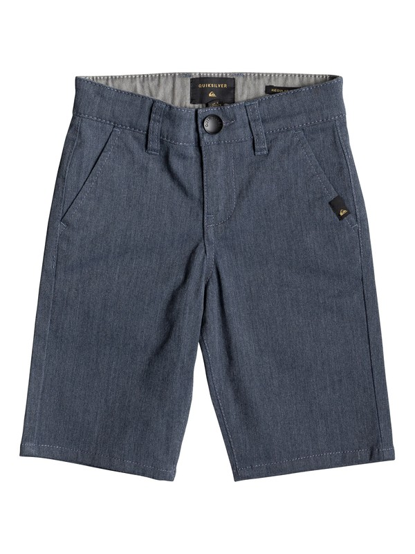0 Boy's 2-7 Everyday Union Chino Shorts Blue EQKWS03134 Quiksilver