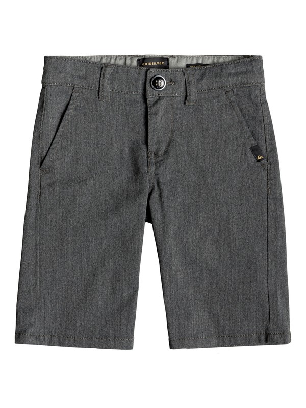 0 Shorts Tipo Chinos - Union Everyday Negro EQKWS03134 Quiksilver