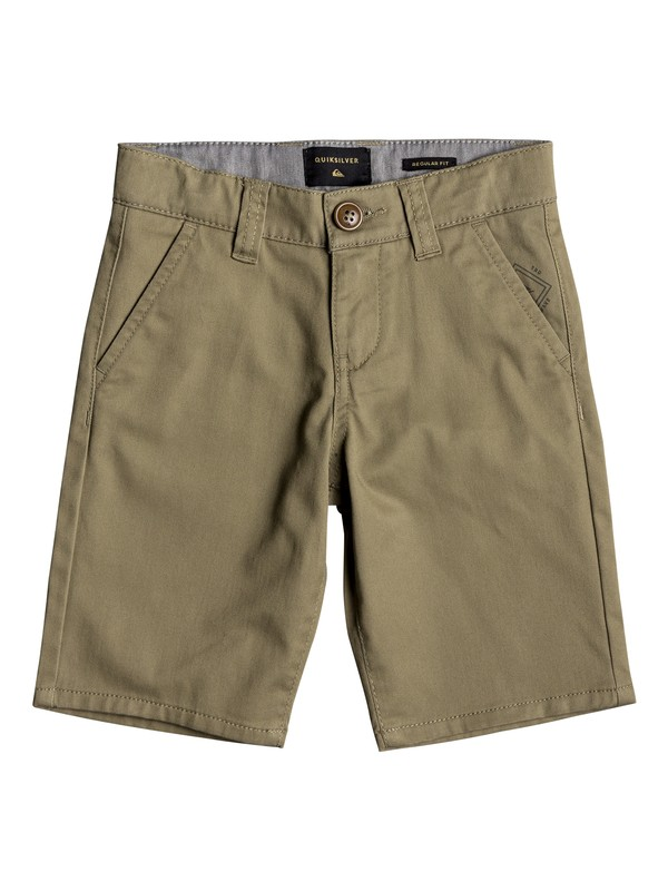 0 Boy's 2-7 Everyday Union Chino Shorts Beige EQKWS03134 Quiksilver