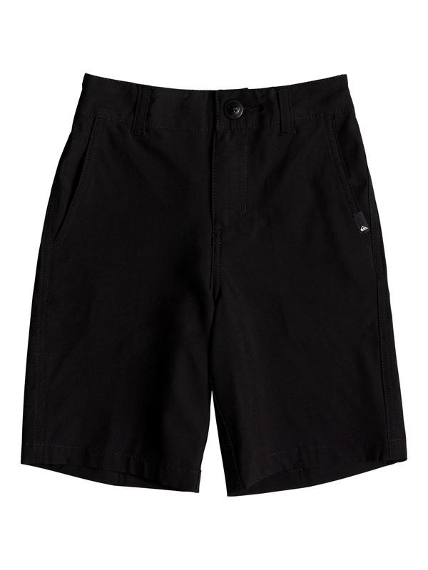 "0 Boy's 2-7 Union 14"" Amphibian Boardshorts Black EQKWS03141 Quiksilver"