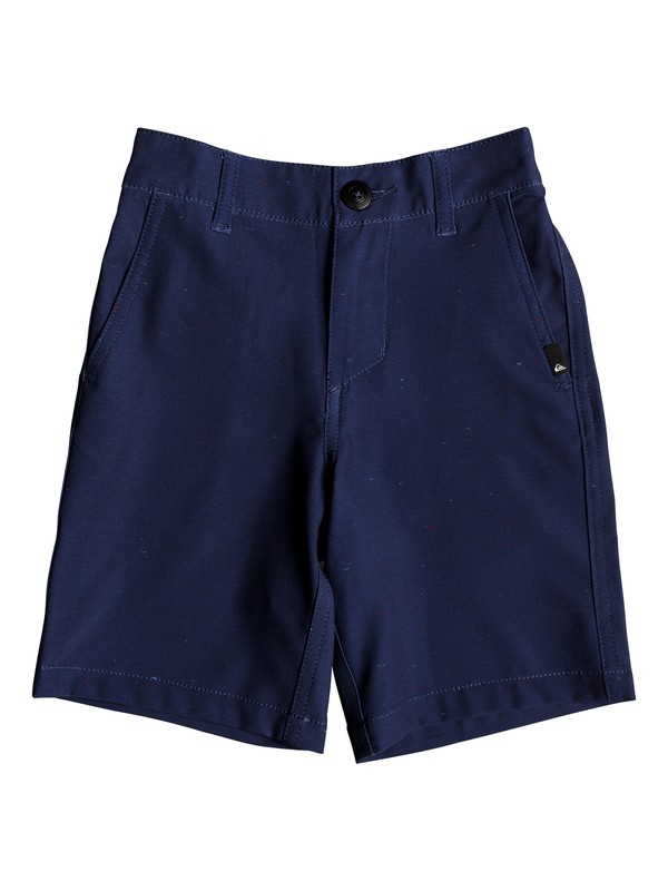 "0 Boy's 2-7 Union Nep 14"" Amphibian Boardshorts Blue EQKWS03153 Quiksilver"