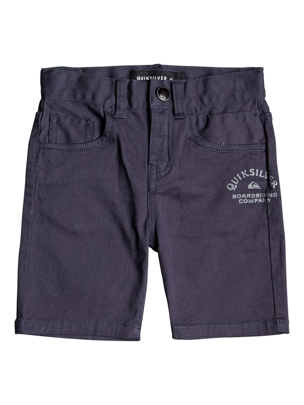 0 Mel Is Born - Shorts for Boys 2-7 Blue EQKWS03163 Quiksilver