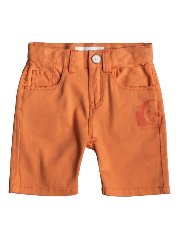 0 Mel Is Born - Shorts for Boys 2-7 Orange EQKWS03163 Quiksilver