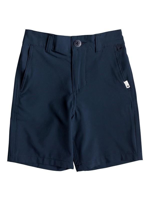 "0 Boy's 2-7 Union 14"" Amphibian Boardshorts Blue EQKWS03167 Quiksilver"