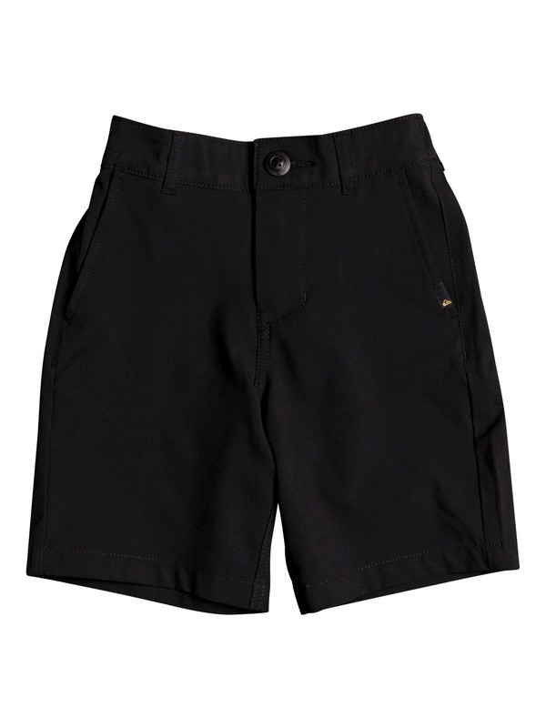 "0 Union 14"" - Amphibian Board Shorts for Boys 2-7 Negro EQKWS03183 Quiksilver"