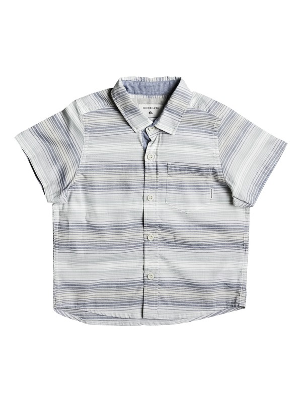 0 Boy's 2-7 Aventail Short Sleeve Shirt Blue EQKWT03119 Quiksilver