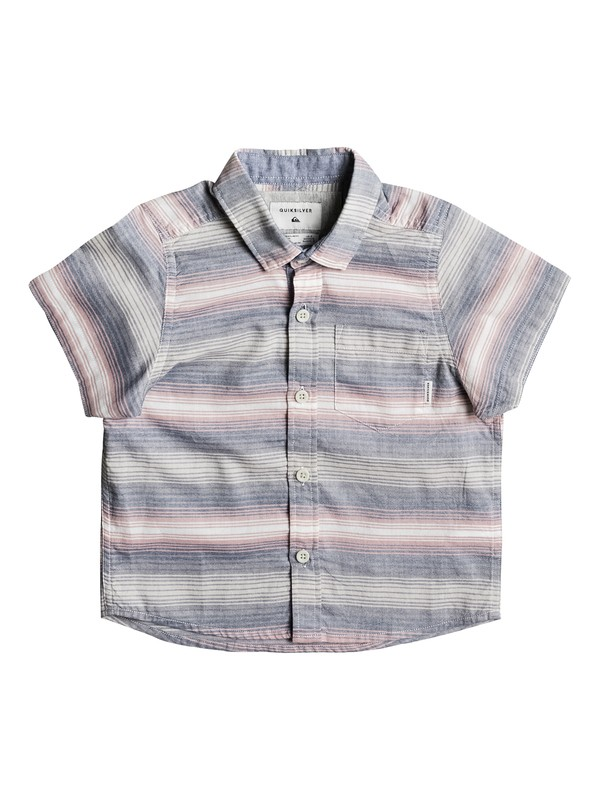 0 Boy's 2-7 Aventail Short Sleeve Shirt Pink EQKWT03119 Quiksilver
