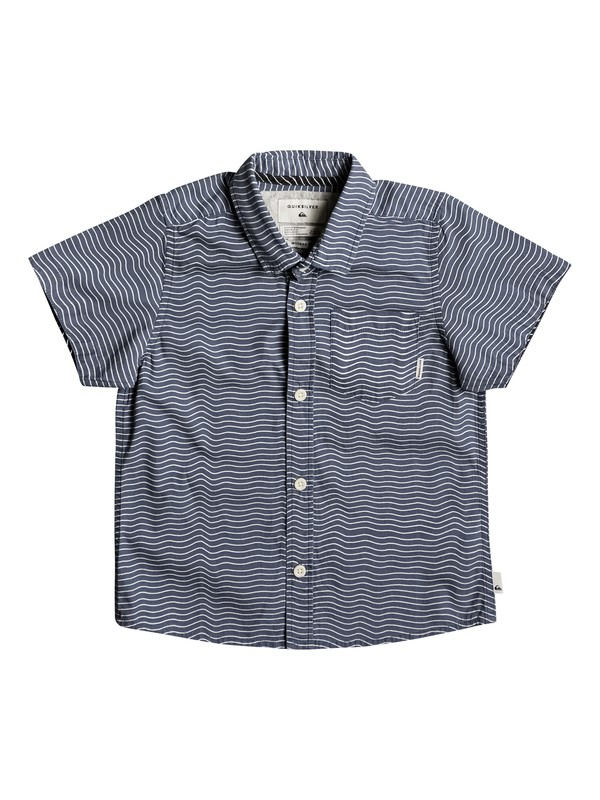 0 Boy's 2-7 Heat Wave Short Sleeve Shirt  EQKWT03122 Quiksilver