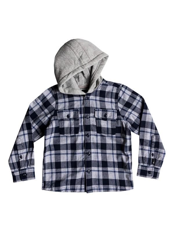 0 Snap Up - Camisa de manga larga para Chicos 2-7 Azul EQKWT03141 Quiksilver