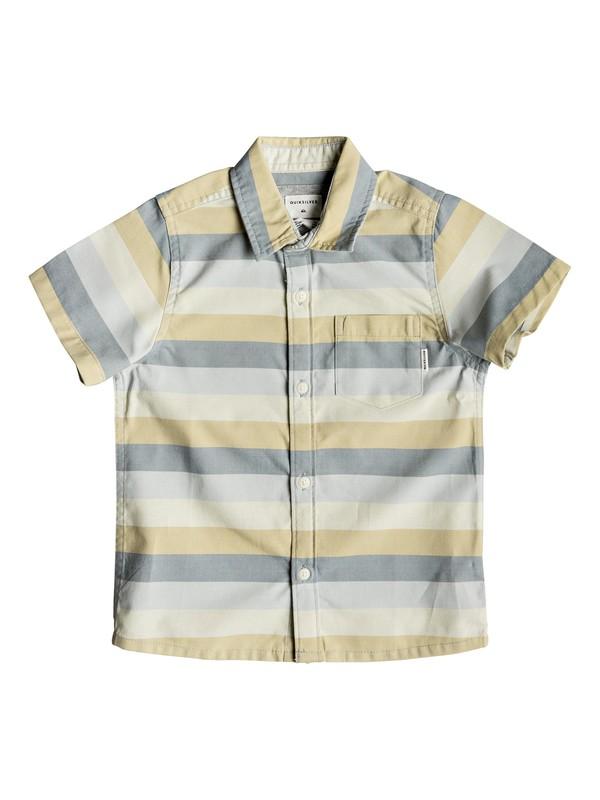 0 Boy's 2-7 Hotel Diva Short Sleeve Shirt Blue EQKWT03154 Quiksilver