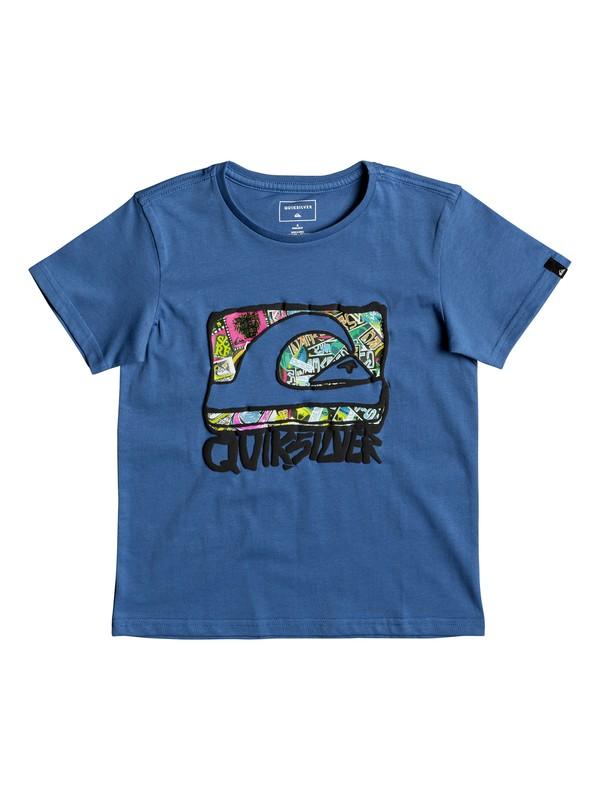 0 Classic Wemi - T-Shirt for Boys 2-7 Blue EQKZT03188 Quiksilver