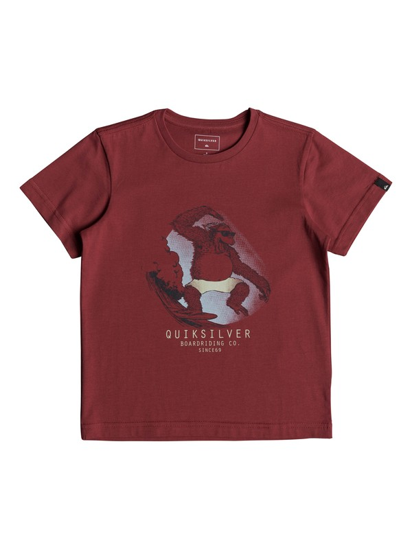0 Freestyle - T-Shirt for Boys 2-7 Red EQKZT03220 Quiksilver