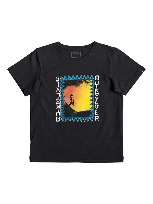 0 Ka Riding - Camiseta para Chicos 2-7 Negro EQKZT03287 Quiksilver