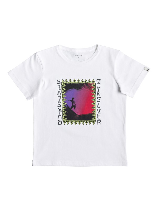 0 Ka Riding - T-Shirt for Boys 2-7 White EQKZT03287 Quiksilver