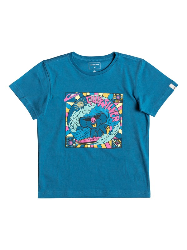 0 Surfing Koala - T-Shirt for Boys 2-7 Blue EQKZT03289 Quiksilver