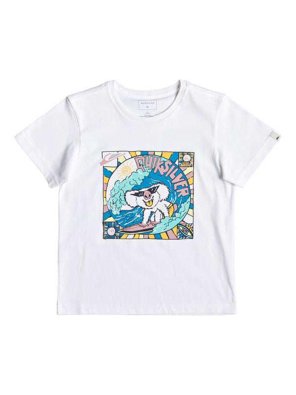 0 Surfing Koala - Camiseta para Chicos 2-7 Blanco EQKZT03289 Quiksilver
