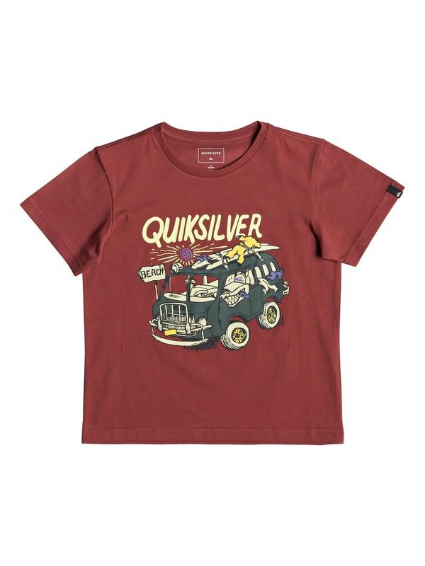 0 Wolf Riding - T-shirt pour garçon 2-7  EQKZT03290 Quiksilver