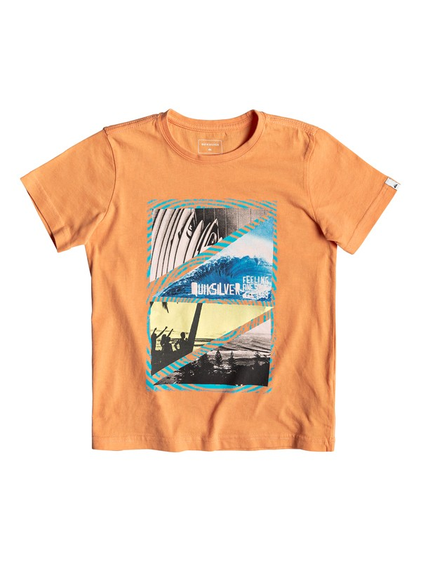 0 Youth Dream - T-Shirt for Boys 2-7 Orange EQKZT03291 Quiksilver