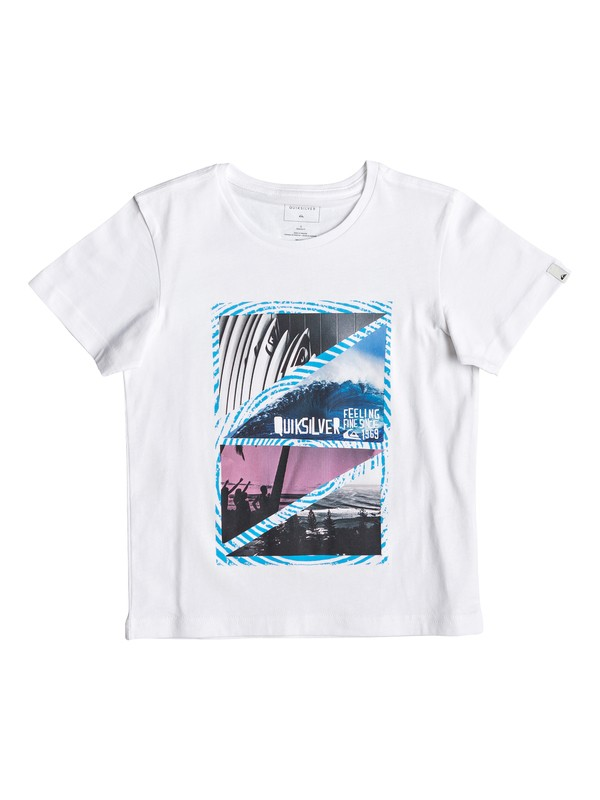 0 Youth Dream - Camiseta para Chicos 2-7 Blanco EQKZT03291 Quiksilver