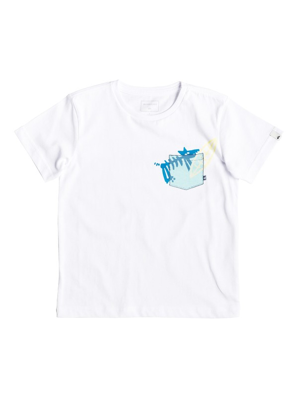0 Ghetto Dog - Camiseta para Chicos 2-7 Blanco EQKZT03296 Quiksilver