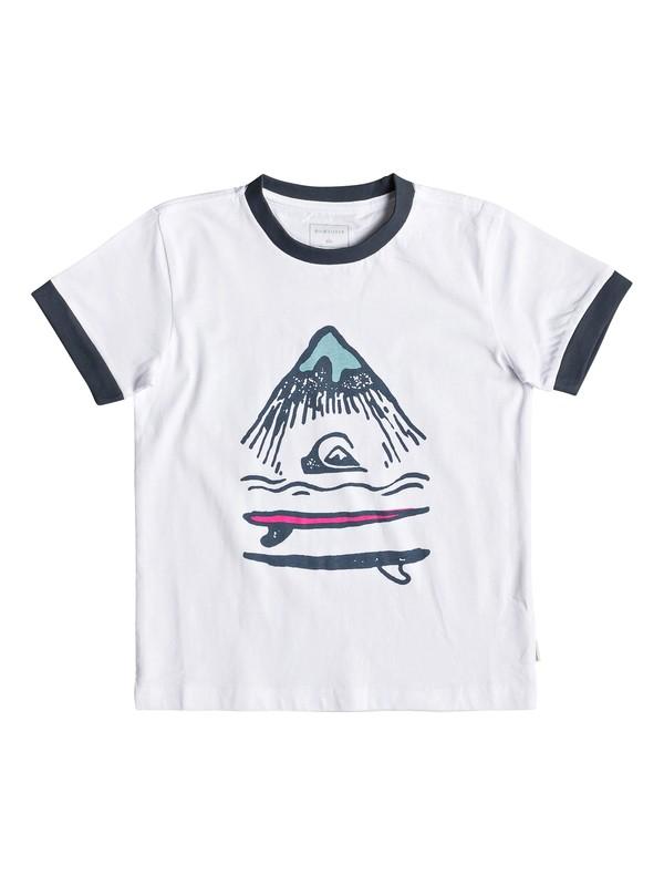 0 Byron Boogie - Camiseta para Chicos 2-7 Blanco EQKZT03299 Quiksilver