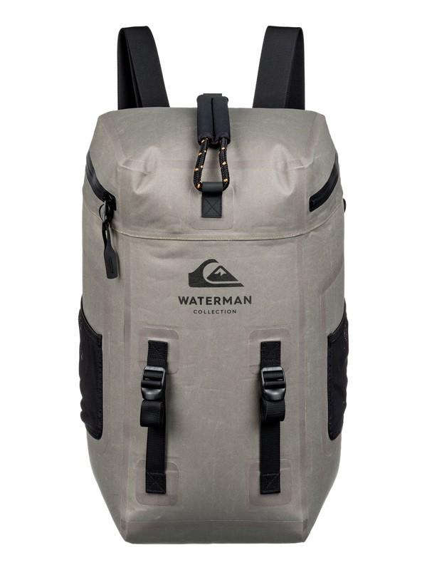 0 Waterman Deeptide 40L Submersible Waterproof Surf Backpack Brown EQMBP03003 Quiksilver