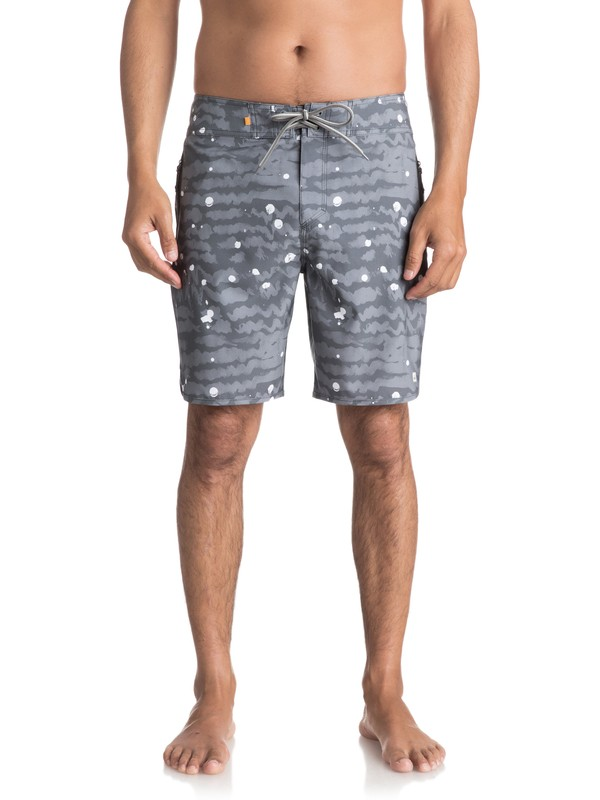 "0 Waterman Deep Sea 19"" - Board Shorts para Hombre Negro EQMBS03017 Quiksilver"