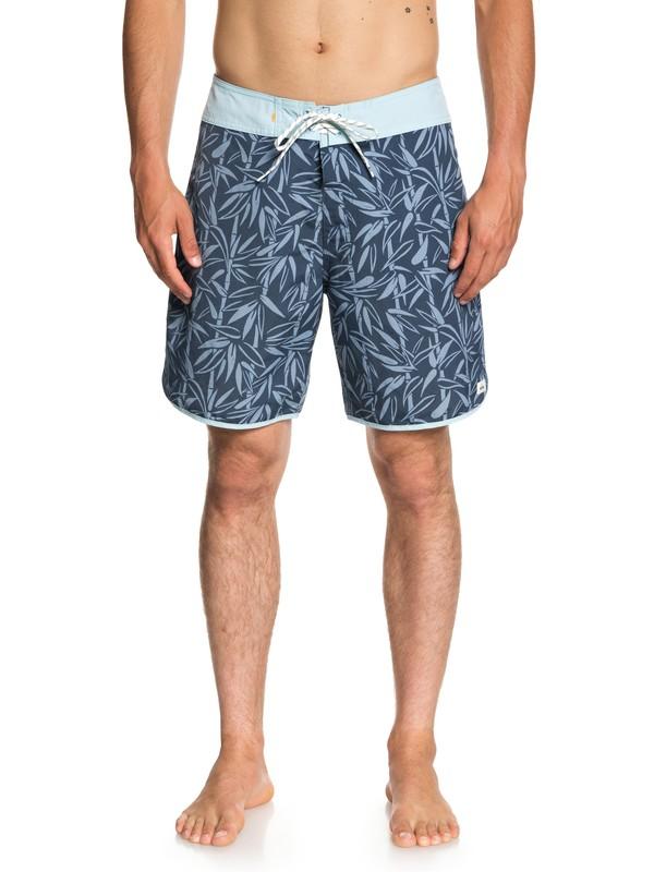 "0 Waterman Mana Scallop 19"" - Board Shorts for Men Blue EQMBS03043 Quiksilver"