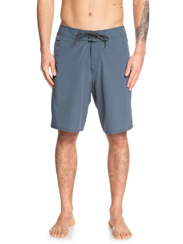 "0 Waterman Paddler 20"" Boardshorts Blue EQMBS03052 Quiksilver"