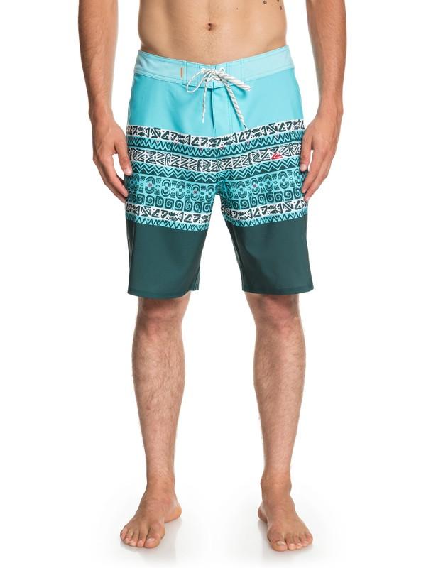 "0 Waterman Liberty Triblock 19"" - Boardshorts para Hombre Azul EQMBS03053 Quiksilver"