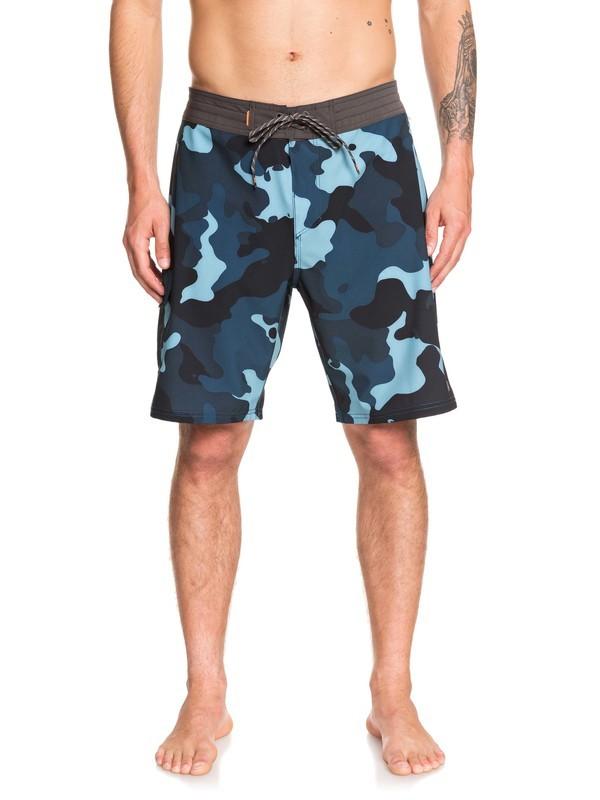 "0 Waterman Angler 20"" - Board Shorts Blue EQMBS03060 Quiksilver"