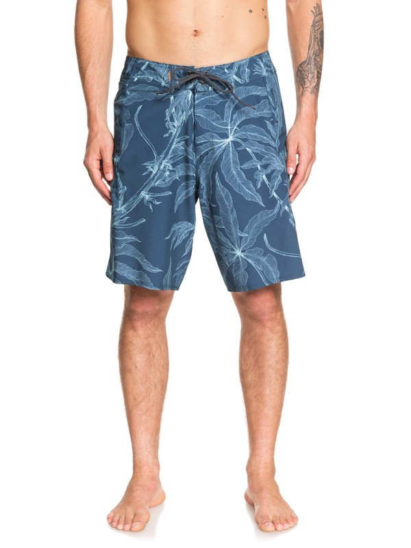 "0 Waterman Paddler 20"" - Board Shorts Blue EQMBS03061 Quiksilver"