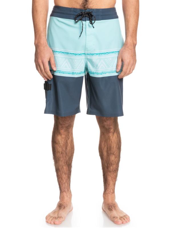 "Waterman Angler Stripe 20"" - Beachshorts for Men  EQMBS03085"