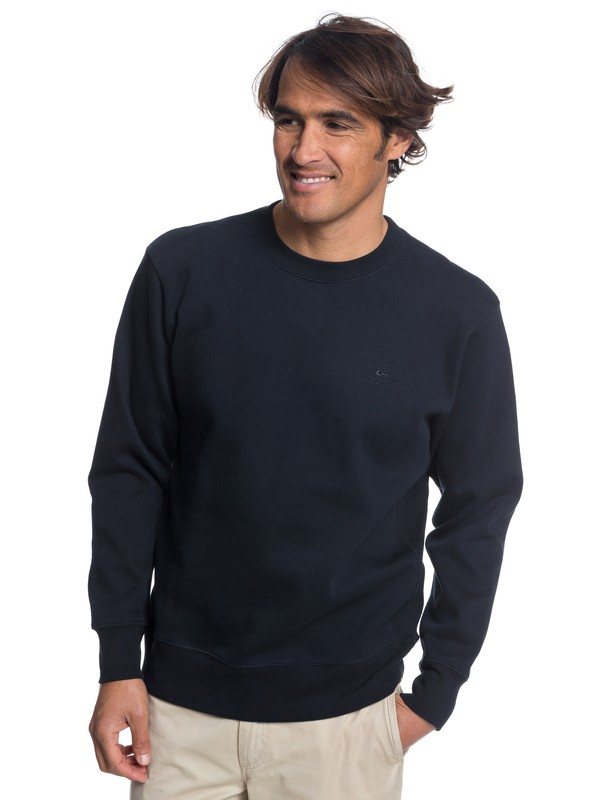 0 Waterman Dead Break Sweatshirt Black EQMFT03025 Quiksilver