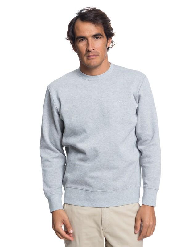 0 Waterman Dead Break Sweatshirt Grey EQMFT03025 Quiksilver